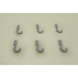 крючок узкий для перфорированной панели