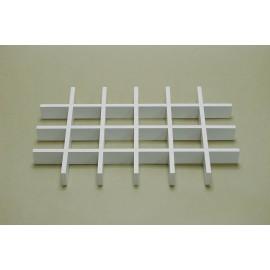Разделитель ящика для аксессуаров на 24 ячейки, белый