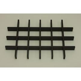 Разделитель ящика для аксессуаров на 24 ячейки, орех