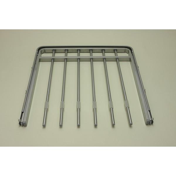 Выдвижная металлическая вешалка для брюк 45*44